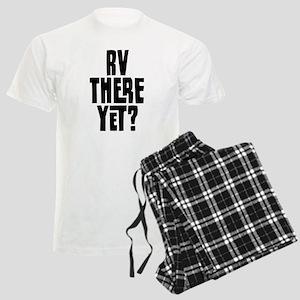 RV There Yet Men's Light Pajamas