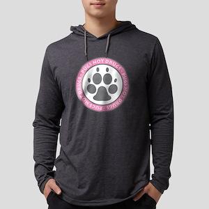 Pugs Not Drugs - Pink Long Sleeve T-Shirt