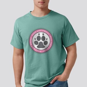 Pugs Not Drugs - Pink T-Shirt