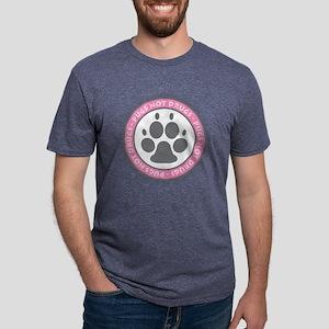 Pugs Not Drugs - Pink T-Shirt