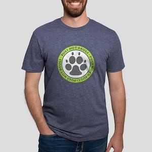 Pugs Not Drugs - Green T-Shirt