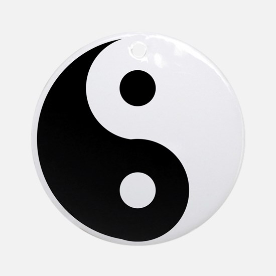 Yin & Yang (Traditional) Ornament (Round)