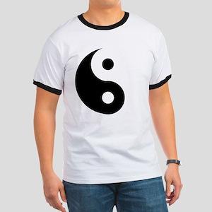 Yin & Yang (Traditional) Ringer T
