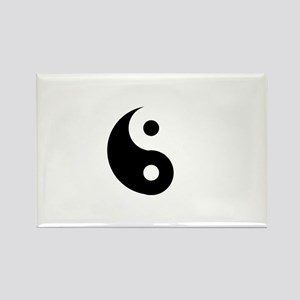 Yin & Yang (Traditional) Rectangle Magnet