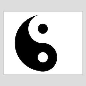 Yin & Yang (Traditional) Small Poster