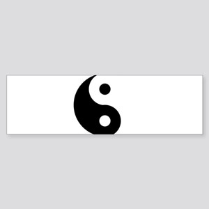 Yin & Yang (Traditional) Sticker (Bumper)