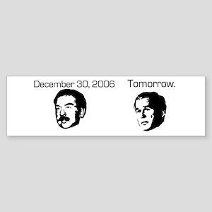 Setting a Precedent Bumper Sticker
