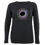 Black Hole - let go all Plus Size Long Sleeve Tee