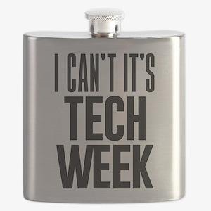 I Can't It's Tech Week Flask