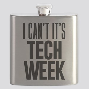 I Can't It's Tech Week Flask