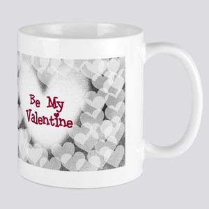 Hearts Be My Valentine Mug