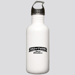 Dad of Twins Classic O Stainless Water Bottle 1.0L