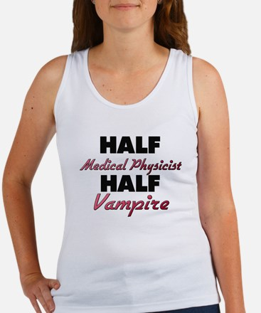 Half Medical Physicist Half Vampire Tank Top