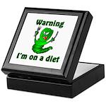 I'm on a Diet Caterpillar Keepsake Box