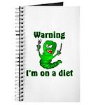 I'm on a Diet Caterpillar Journal