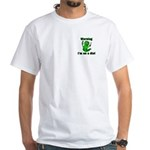 I'm on a Diet Caterpillar White T-Shirt