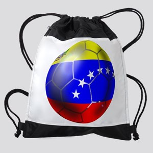 Venezuela Soccer Ball Drawstring Bag