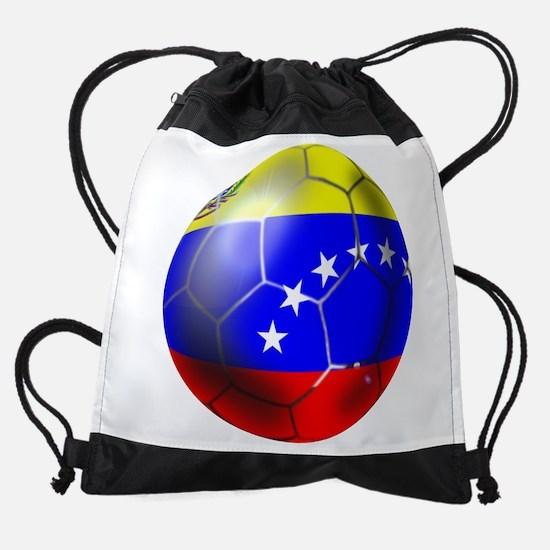 Venezuela Soccer Ball Drawstring Bag