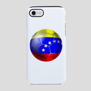 Venezuela Soccer Ball iPhone 7 Tough Case
