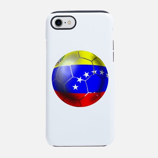 Venezuela Soccer Ball iPhone 7 Tough Case