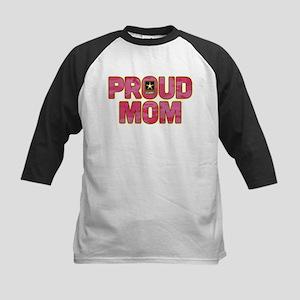 U.S. Army Proud Mom Kids Baseball Tee