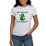 Do I Look Like I'm Happy Caterpillar Women's T-Sh