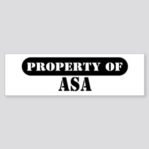 Property of Avery Bumper Sticker
