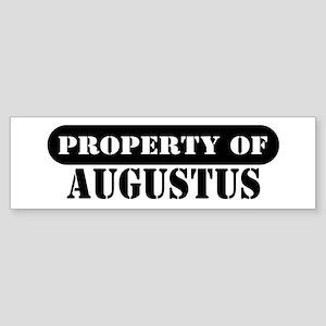 Property of Augustus Bumper Sticker