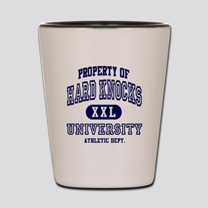 Hard Knocks University Shot Glass