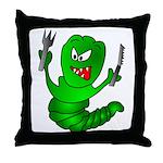 The Original Angry  Throw Pillow