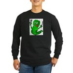 The Original Angry Long Sleeve Dark T-Shirt