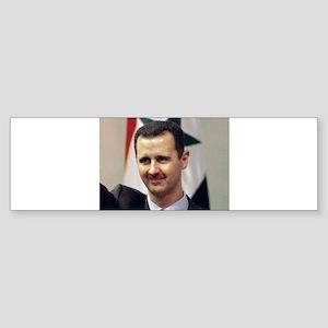 Bashar Al Assad Arab Socialism Syri Bumper Sticker