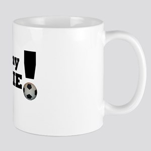 I Love My Goalie -Soccer Mug