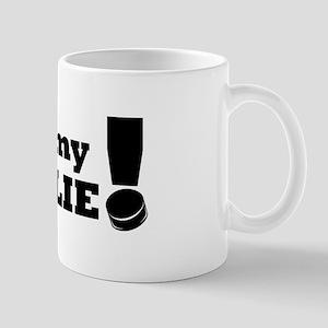 I Love My Goalie -Hockey Mug