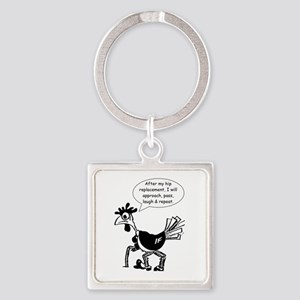 Hip Replacement - Fun Quote Keychains