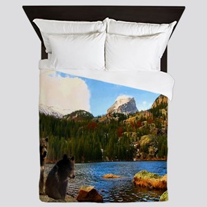 Bear Lake Queen Duvet