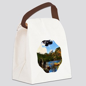 Bear Lake Canvas Lunch Bag