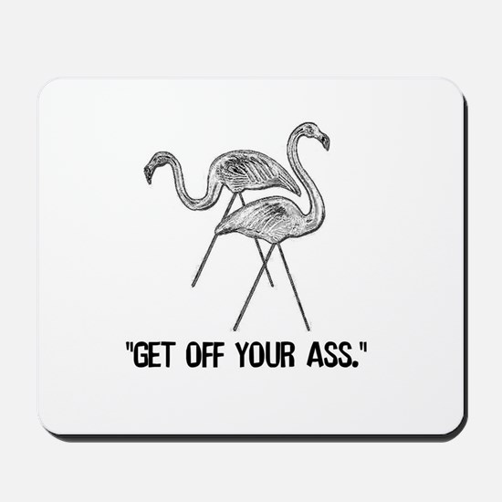 Wonderfalls Flamingo Mousepad