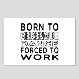 Born To Merengue Dance Postcards (Package of 8)