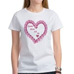 Memory Rose Heart Valentine Women's T-Shirt