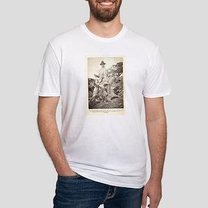 Dirt napper Fitted T-Shirt