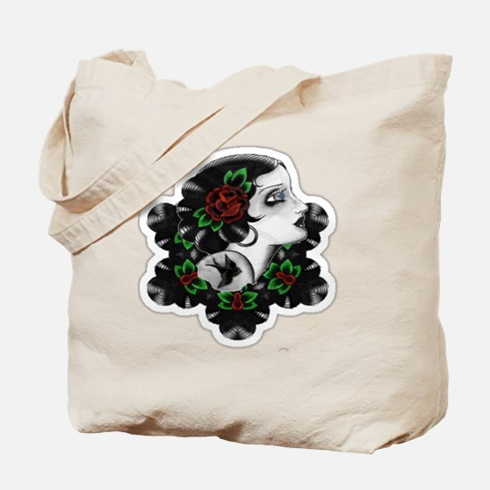 TRADITIONAL ROSE BEAUTY Tote Bag