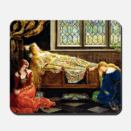 Sleeping Beauty, painting by John Maler  Mousepad