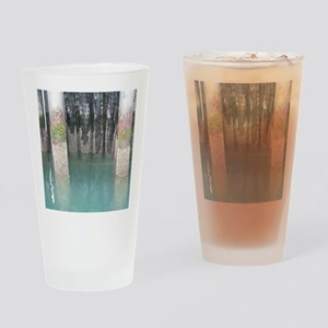 Guemes Island Ferry Pilings Drinking Glass