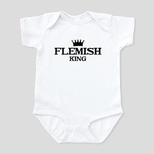 flemish King Infant Bodysuit