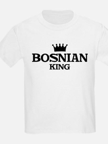 bosnian King Kids T-Shirt