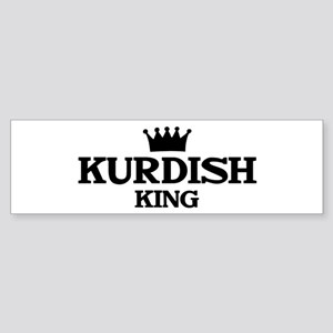 kurdish King Bumper Sticker