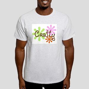 Crafty Ash Grey T-Shirt