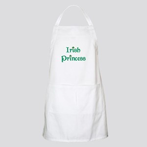 Irish Princess Green BBQ Apron