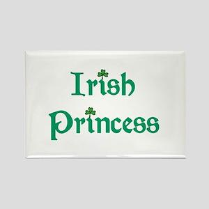 Irish Princess Green Rectangle Magnet